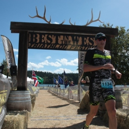Crossing the line in 36th place out of 186 participants
