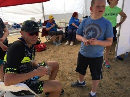 Recovering at the finish line
