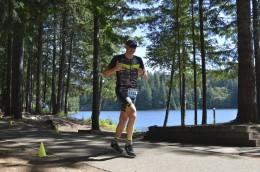Loving the run around Foster Lake